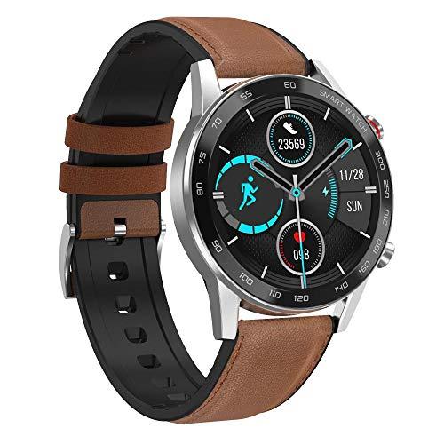 Yhsm Dt95 Smartwatch Bluetooth Monitoreo de Llamadas de Ritmo Cardíaco Sueño Paquete de Habla Chino.