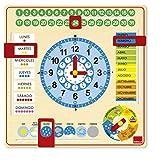 Goula- Reloj calendario - Juego educativo a partir de 3 años