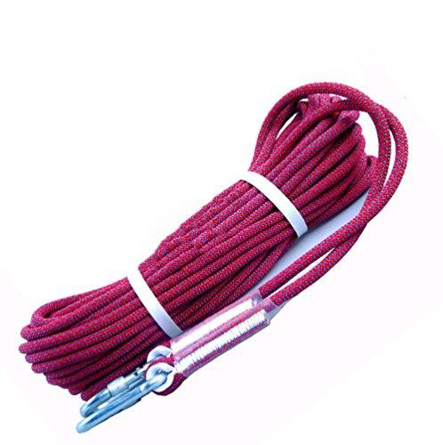Cuerda De Aventura Al Aire Libre De 12 Mm De Diámetro (10m 32 Pies) (20m 64ft) (30 M 94ft) (40m 131ft) Cuerda De Escalada De Usos Múltiples Cuerda De Rescate Fuego Paracaídas Cable De Tracción