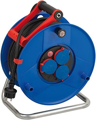 Brennenstuhl 1208380 Garant - Carrete alargador de cable (40 m, H07RN-F 3G1,5,...