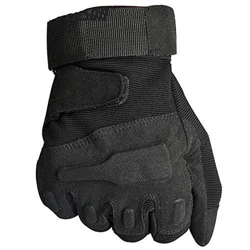 Black Hawk Taktische Voll-Finger-Handschuhe Male Winter Warm Army Fan Outdoor-Bergsteiger Kut-Proof Fighting,M