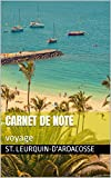 Carnet de note : voyage (French Edition)