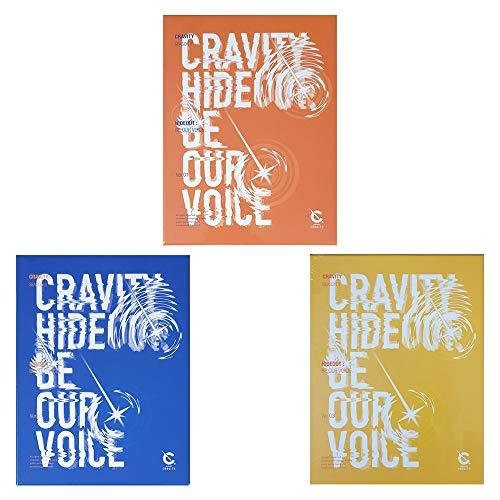 CRAVITY Season3 Hideout: Be Our Voice Album PreOrder (1+2+3 Ver Set) CDs+Photobooks+Photocards+Stickers+Unit Polaroids+ID Photocards+Photo Stands+Mini Photo Slogans+(Extra 10 Photocards)
