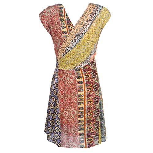 Desigual Vestito Donna Modello Clanzie Orangery 38