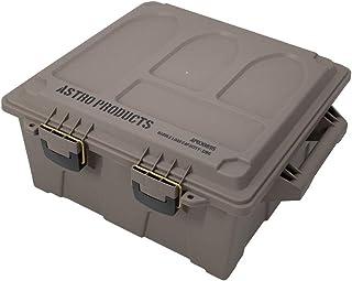 AP プラスチックボックス XL ダークアース BX895   箱 ボックス ミリタリー ミリタリ-ボックス 収納 大きめ おしゃれ インテリア 弾薬箱 弾薬ケース アウトドア
