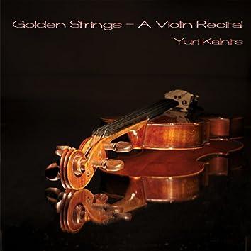 Golden Strings - A Violin Recital