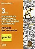 Aprueba Matemáticas. Cuaderno Del Alumno. 3º ESO (Aprueba tus Exámenes) - 9780190508890...
