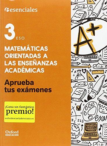 Aprueba Matemáticas. Cuaderno Del Alumno. 3º ESO (Aprueba tus Exámenes) - 9780190508890