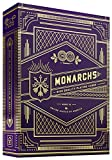 Theory11 Monarchs Playing Cards (Purple) Baraja de Cartas de Poker