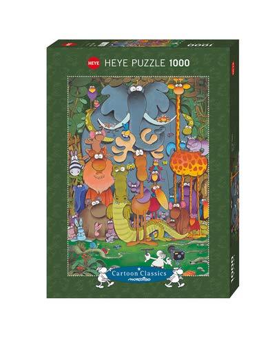 Heye- Mordillo Puzzle Fotografia, 1000 Pezzi, Multicolore, 29284