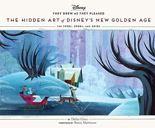 They Drew as They Pleased Volume 6: The Hidden Art of Disney