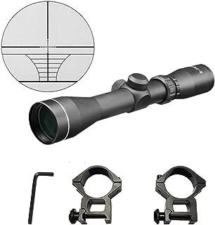 Persei 2-7x42 Long Eye Relief Scope Rangefinder Reticle 30mm Tube Diameter Fits Mosin Nagant 1891/30 M39 with Mount Rings