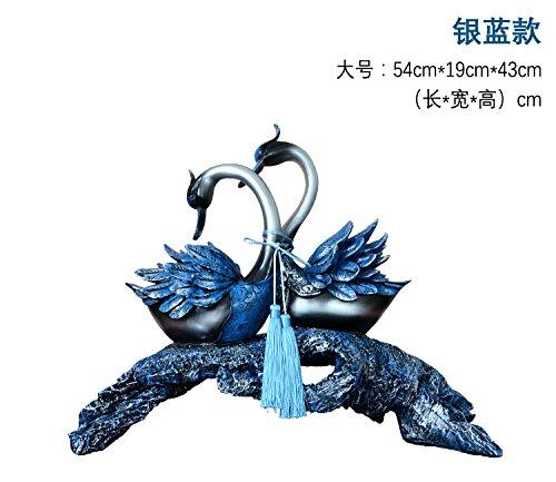 GFEI mobilier de Maison européenne Bijoux Ornements Swan/Cabinet de la télé dans Le Salon Cabinet création décor/rétro,Un