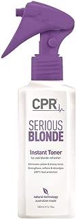 CPR Serious Blonde (purple) Instant Toner 180ml