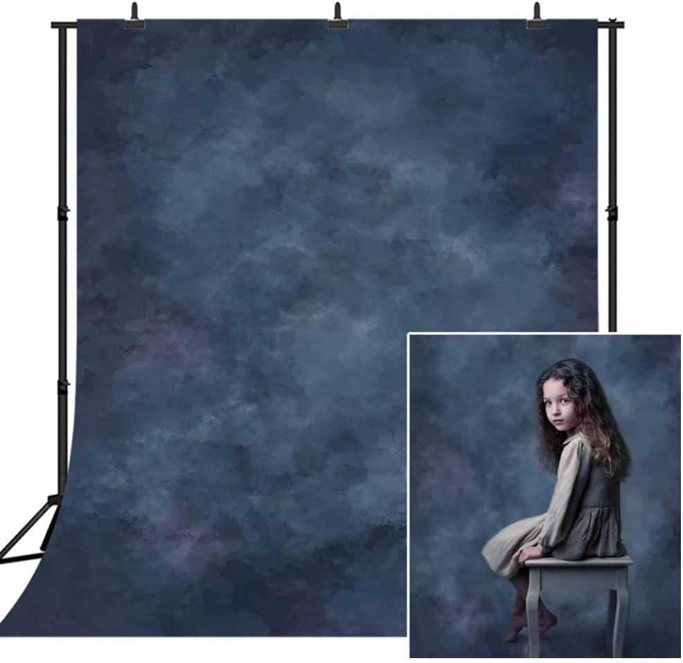 Neevop 5X3Ft Vinyl Photography Backdrop Popular products SALENEW very popular Newborn Portrait Blue Ph