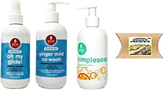 OYIN Handmade Conditioning Care Hair Product Combo Set (DETAGLER&CREAM&SIMPLE-SOAP&SHEA-BUTTER)