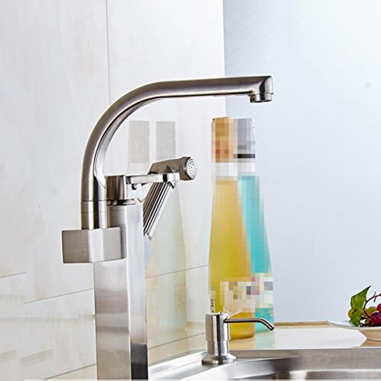 LaaN Wasserhahn aus Gold, Kupferhahn aus Kupfer, Becken für heie und kalte Becken, Wasserhahn für Hotels (Farbe   High Drawing)