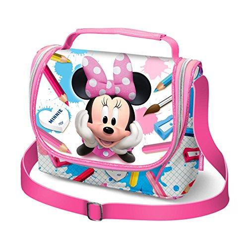 Karactermania Minnie Mouse School-Girls Lunch Bag Schulranzen, 24 cm, Pink