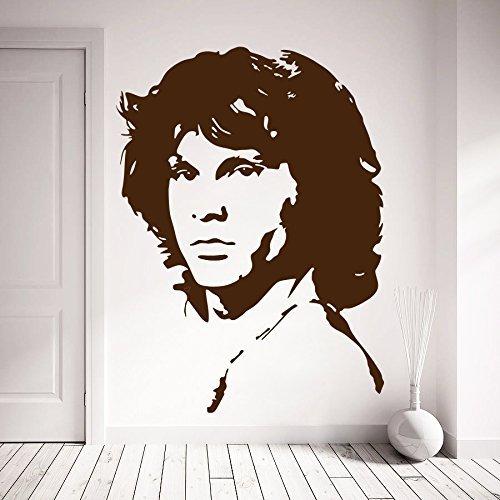Preisvergleich Produktbild Zigzacs Wall Sticker Jim Morrison Living Room décor Removable Wall Art Decal