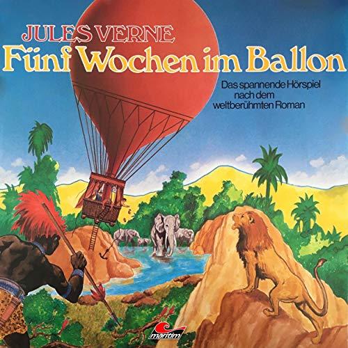 『Fünf Wochen im Ballon』のカバーアート