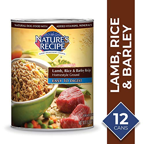 Nature's Recipe Lamb, Rice & Barley Recipe Wet Dog...