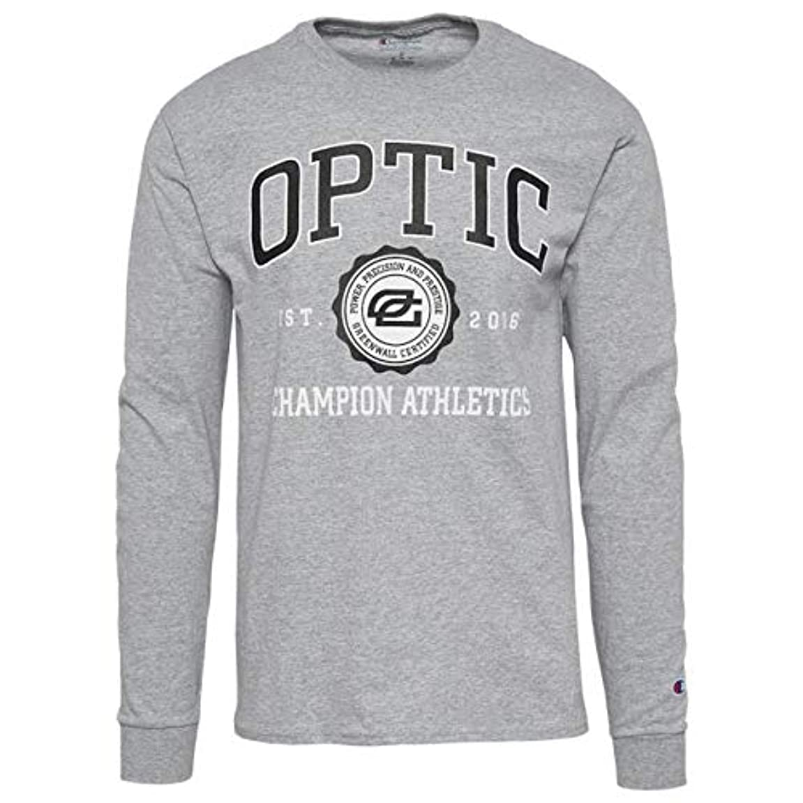 染料とは異なり胚(チャンピオン)Champion OpTic Gaming L/S Jersey T-Shirt メンズ Tシャツ [並行輸入品]
