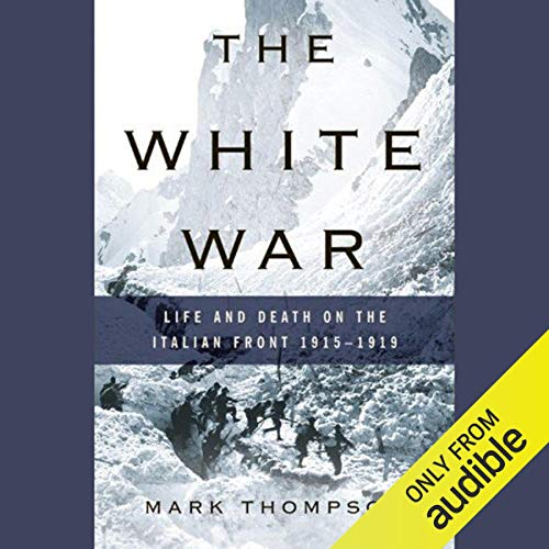 The White War audiobook cover art