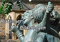 Ratinger Bilderbogen (Wandkalender 2022 DIN A3 quer): Die Stadt Ratingen am Rande des Bergischen Landes im Wandel der Jahreszeiten (Monatskalender, 14 Seiten )