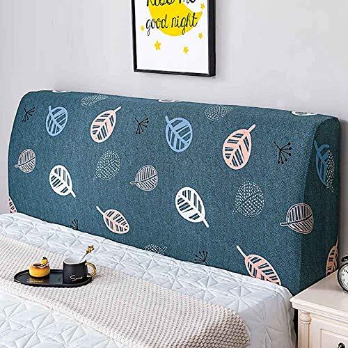 ZHICHENG Cabecero Cover-Cubierta para Cabecero De Cama,Tela,Protector Cubierto Elástica Funda para Cabecero para La Decoración del Dormitorio (Color : Color 12, Size : 120cm)