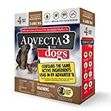 Best Flea And Tick Prevention For Dogs - Advecta 3 Flea and Tick Topical Treatment, Flea Review