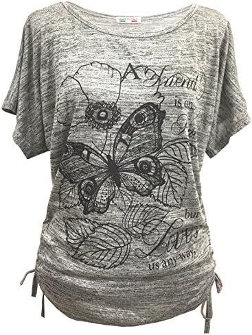 Emma & Giovanni Camiseta Manga Larga para Mujer Gráfica