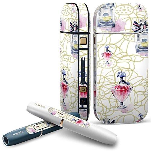 IQOS 2.4 plus 専用スキンシール COMPLETE アイコス 全面セット サイド ボタン デコ 香水 おしゃれ リボン 012539