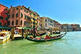Puzzles para Adultos Rompecabezas de 1000 Piezas, Educativo Intelectual Descomprimiendo Juguete Divertido Juego Familiar Feria de Venecia
