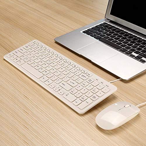 WAJJ Draadloze bedrade set muis toetsenbord laptop chocolade key cap