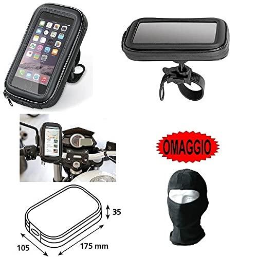 Porta móvil smartphone teléfono funda de manillar 90423lampa bicicleta moto para Royal...