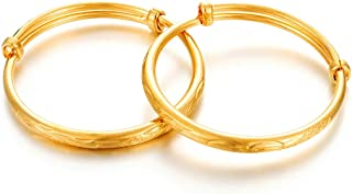 Best real gold baby bangles Reviews
