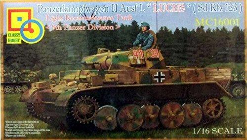 CLASSY HOBBY MC-e 16001 – Maquette Panzer II