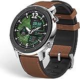Amazfit GTR 47 Smartwatch Deportivo Reloj Inteligente AMOLED de 1.39' GPS + GLONASS Integrado Frecuencia cardíaca Continua de 24 Horas Larga duración de batería 14 dias 12 Modos Deportes- Acero