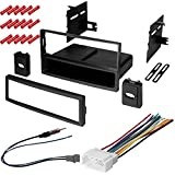 CACHÉ KIT308 Bundle with Car Stereo Installation Kit for 2006 – 2008 Honda Pilot EX – in Dash Mounting Kit, Antenna, and Harness for Single Double Din Radio Receivers (4 Item)