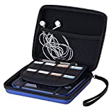 AUSTOR Travel Carrying Case for Nintendo 2DS, Blue