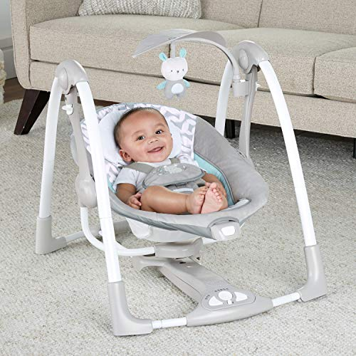 51cALydIS5L The Best Fully Reclined Baby Swings for 2021 Review