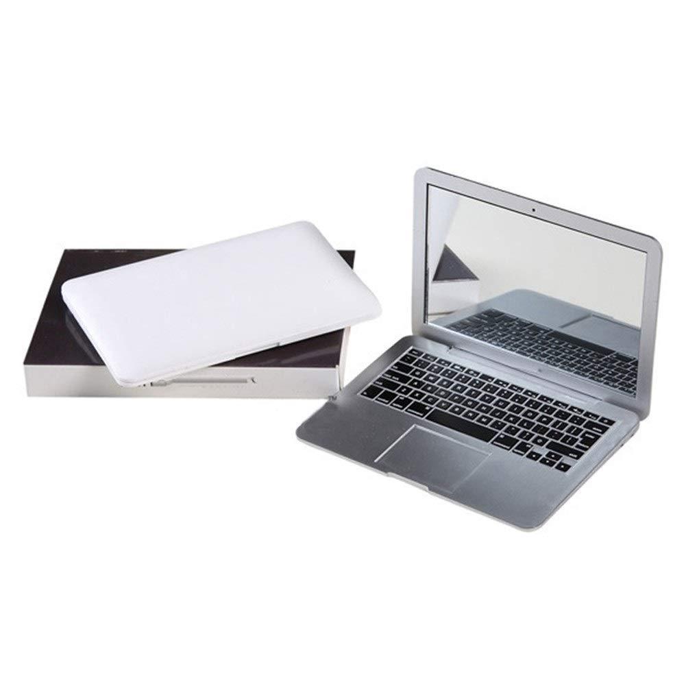Finally resale start Cute 1 year warranty MAKEUP Mini Pocket Laptop Style Clear Glass Women Cosmetic