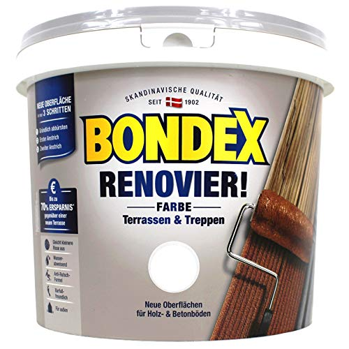 Bondex Renovier! Farbe Erdbraun 5,00 l - 371675