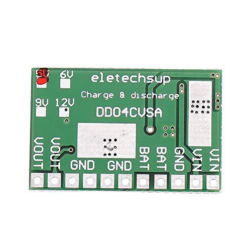 Módulo electrónico OUTPUT UPS Mobile Power DIY Cargador Tablero Step UP DC a DC Módulo Converter para 3.7V 18650 Batería de litio 5V 2.1A Equipo electrónico de alta precisión