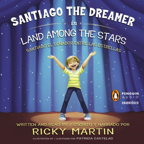 Santiago the Dreamer in Land Among the Stars (Santiago el Sonadorentre las Estrellas) cover art
