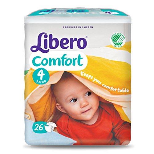 Pannolini Libero Comfort Misura 4 - Kg 7/14