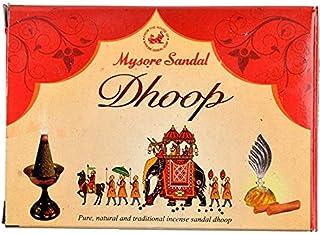 Mysore Sandal's Dhoop (47 g, Black, Pack of 12)