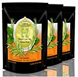 E-Z Detox Tea for Weight Loss and Belly Fat - Appetite Control - Body Cleanse – Detox 3 Pack