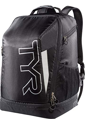 TYR Apex Transition Bag, Black/Silver, Medium
