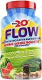 The20: Flow - Nitric Oxide Supplement - 60 Capsules - L-Citrulline from Organic Watermelon, Organic Spinach, and Organic Acerola Cherries - for Heart, Brain, and Overall Health - No Gluten